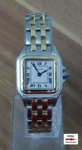 Cartier Panthere kleines Modell Stahl/18k 750 Gold
