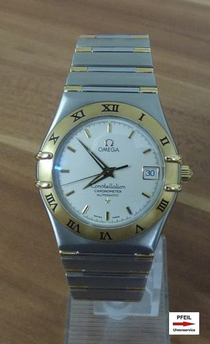 Omega Constellation Men Stahl/Gold Automatik